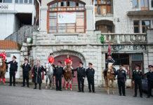 Конное шествие в Симеизе в День Победы 09 мая 2018