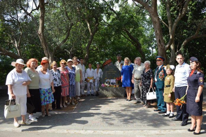 Гаспра, митинг в День Памяти и скорби 22 июня 2018