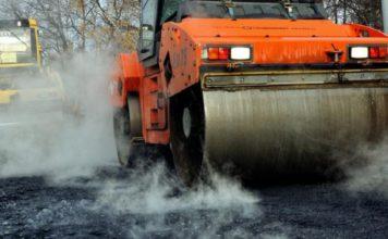 Капитальный ремонт дорог в Крыму, июль 2018